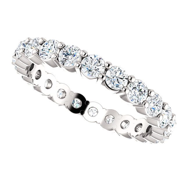 Platinum Diamond Eternity Ring 1 20ct Nz Diamonds