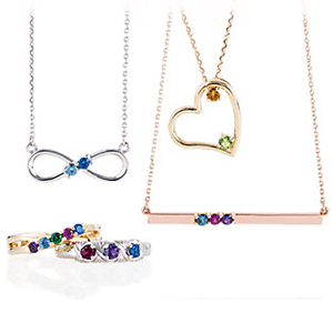 birthstone & family jewellery